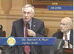 Speaking to education funding on House floor, Feb. 5, 2013.