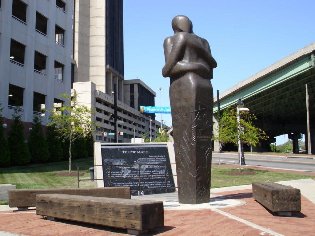 photo of Richmond Slavery Reconciliation Statue