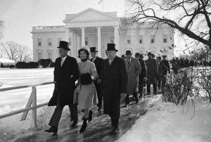 photo of JFK inauguration